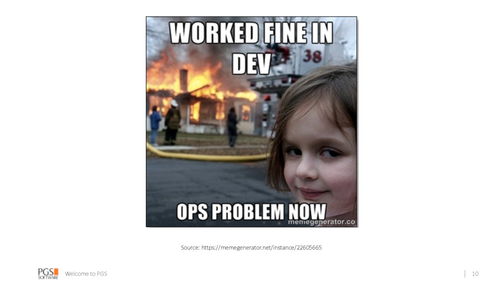 Welcome to PGS 10 Source: https://memegenerator...