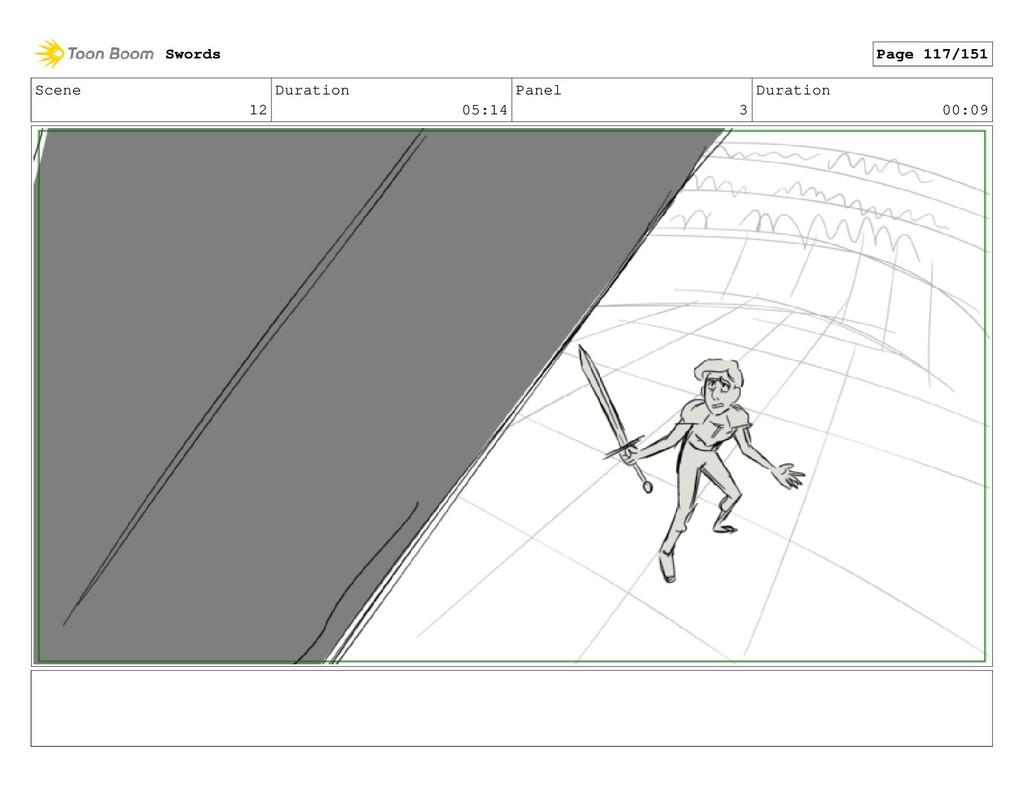 Scene 12 Duration 05:14 Panel 3 Duration 00:09 ...