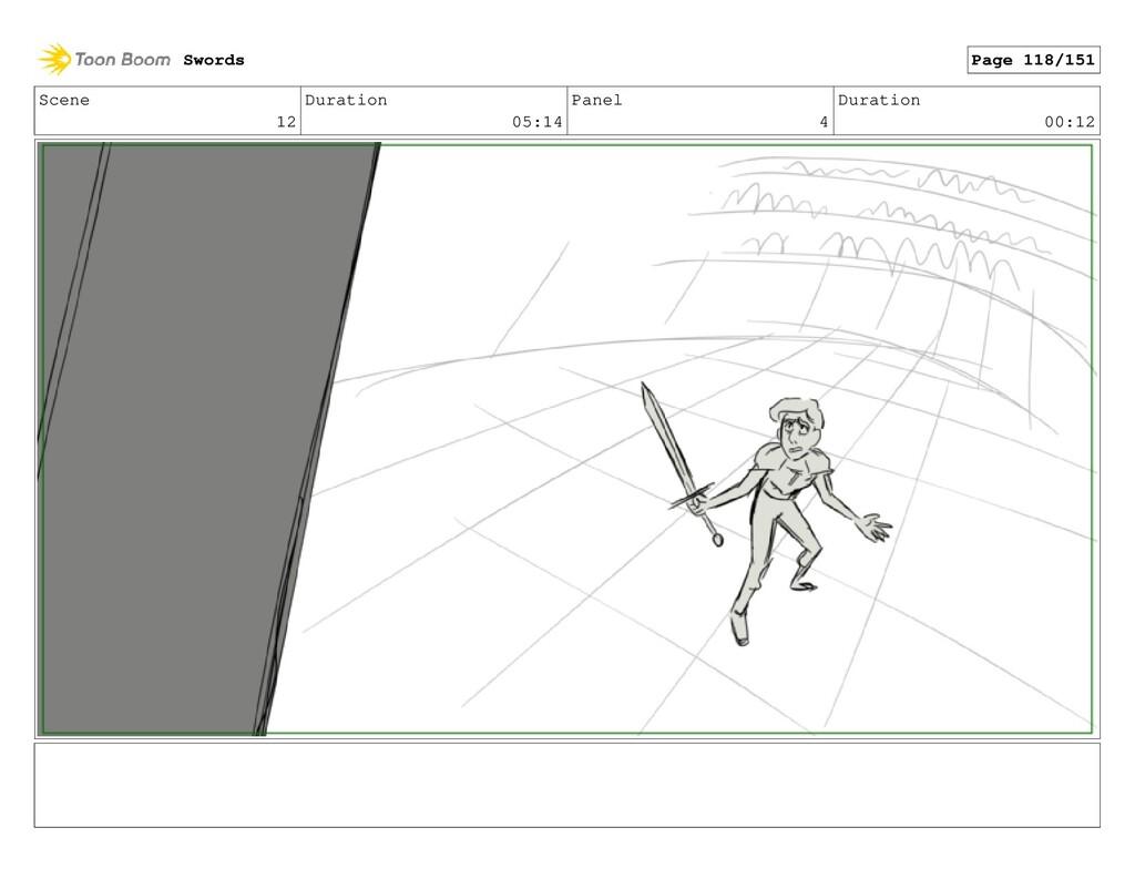 Scene 12 Duration 05:14 Panel 4 Duration 00:12 ...