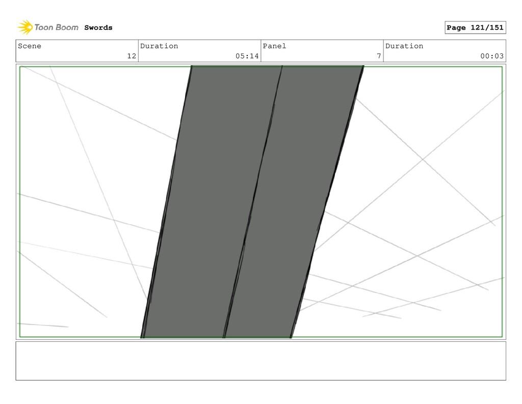 Scene 12 Duration 05:14 Panel 7 Duration 00:03 ...