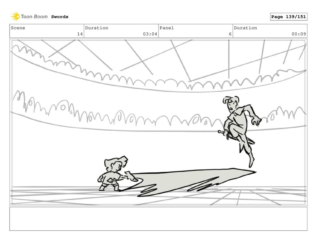 Scene 14 Duration 03:04 Panel 6 Duration 00:09 ...