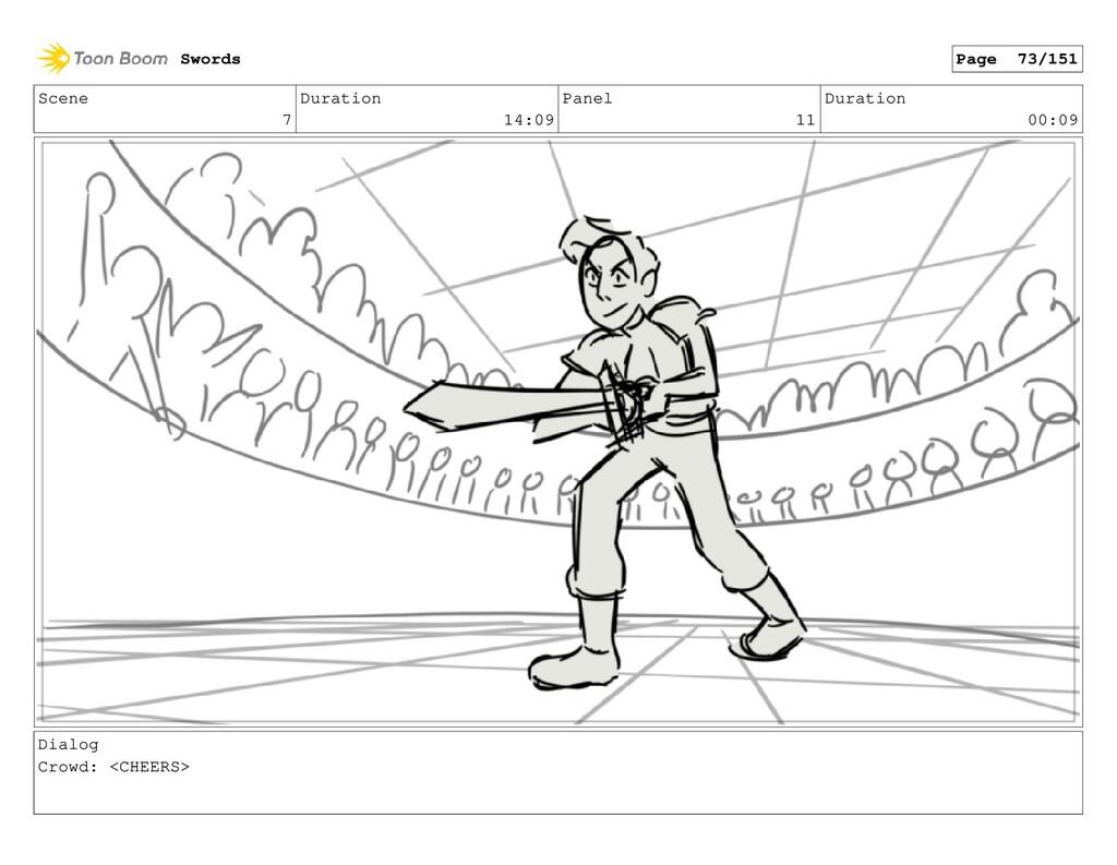 Scene 7 Duration 14:09 Panel 11 Duration 00:09 ...