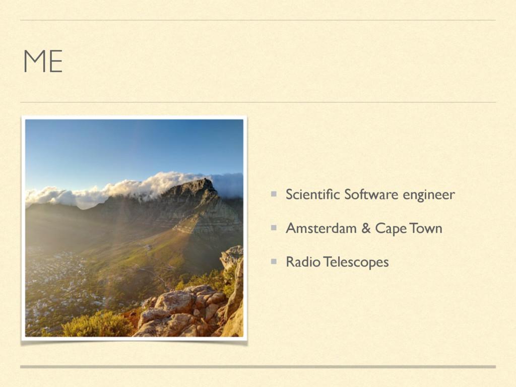 ME Scientific Software engineer Amsterdam & Cape...