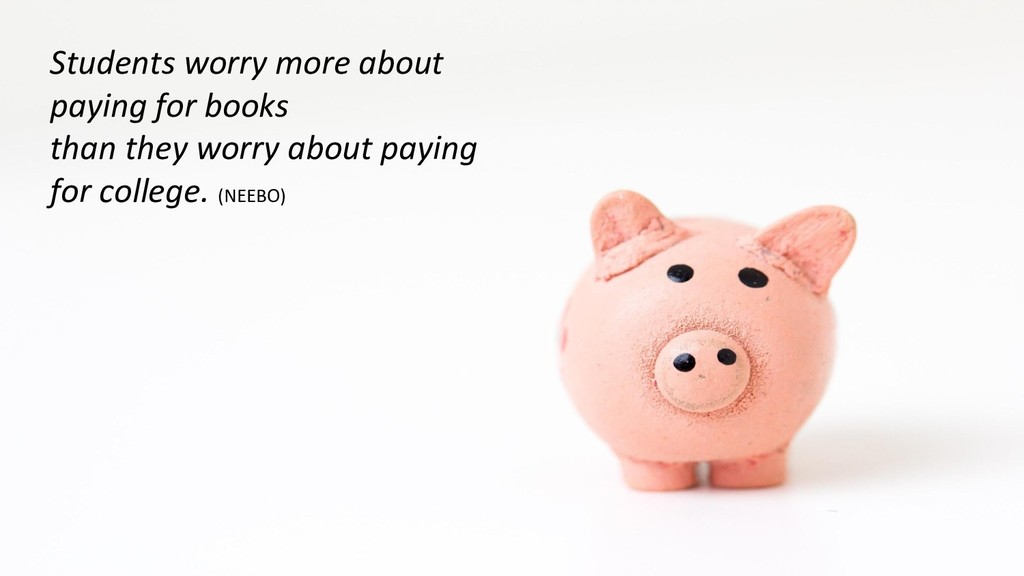 Students worry more about paying for books than...