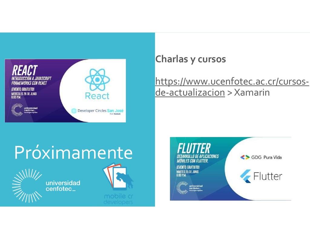 Próximamente Charlas y cursos https://www.ucenf...
