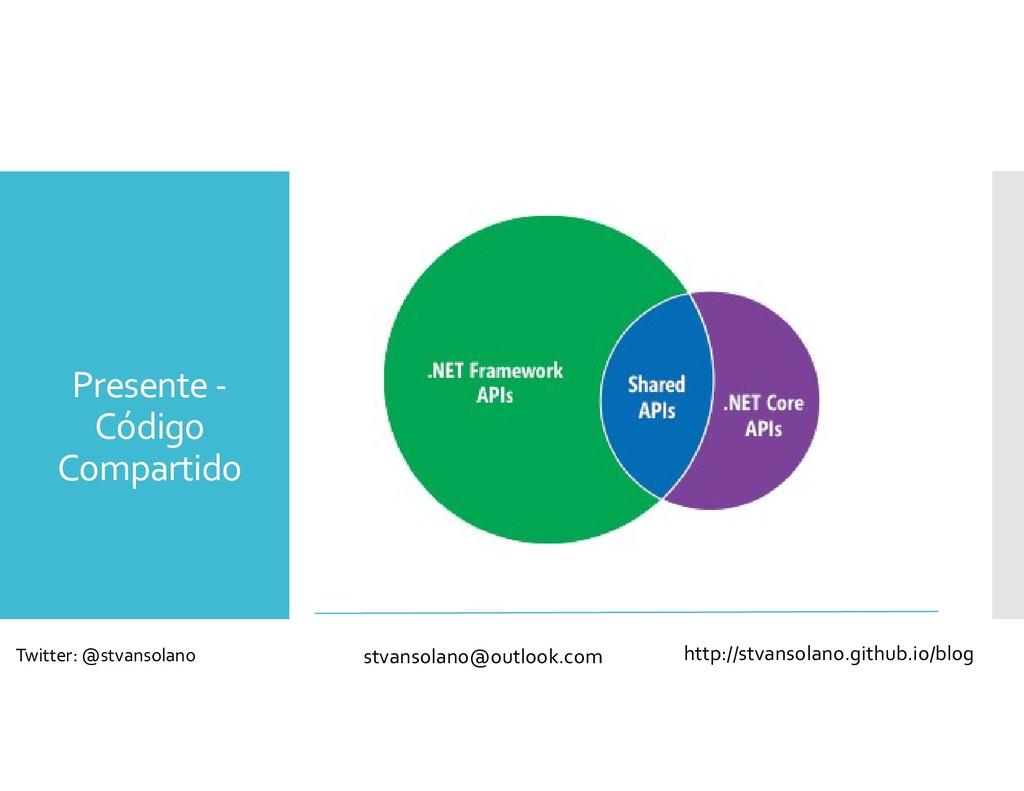 Presente - Código Compartido stvansolano@outloo...