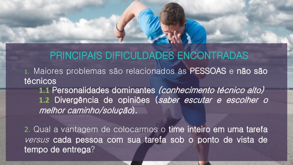 PRINCIPAIS DIFICULDADES ENCONTRADAS 1. Maiores ...