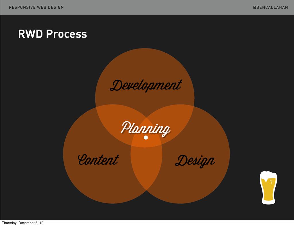 @BENCALLAHAN RESPONSIVE WEB DESIGN RWD Process ...