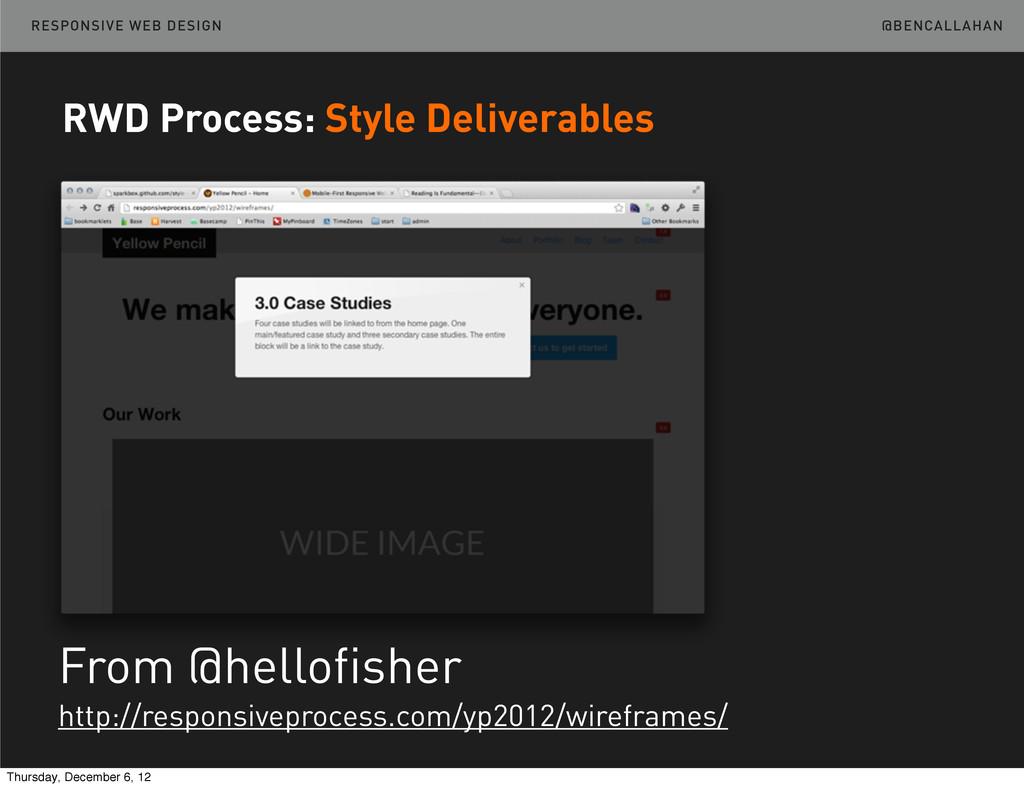 @BENCALLAHAN RESPONSIVE WEB DESIGN From @hellof...