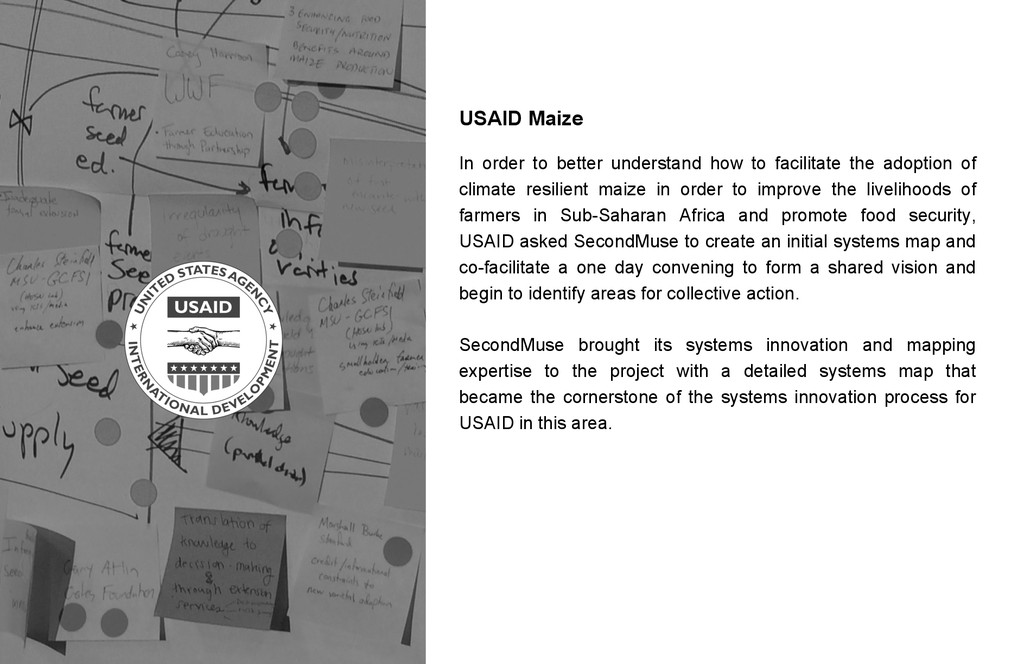USAID Maize In order to better understand how t...
