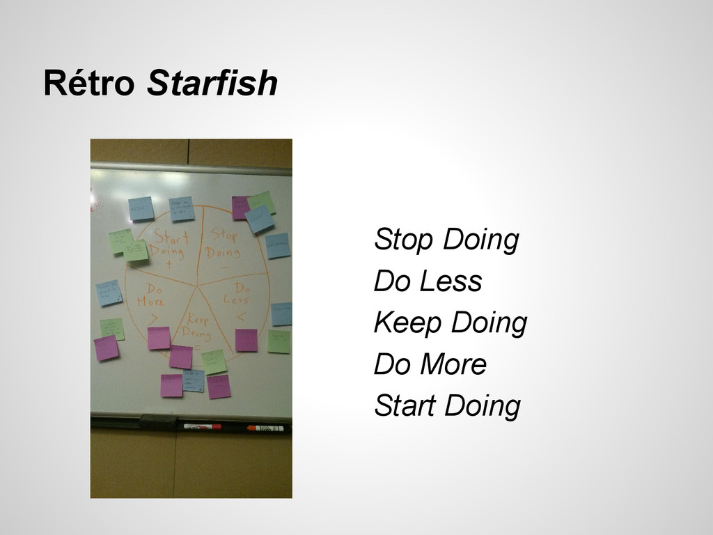 Rétro Starfish Stop Doing Do Less Keep Doing Do...