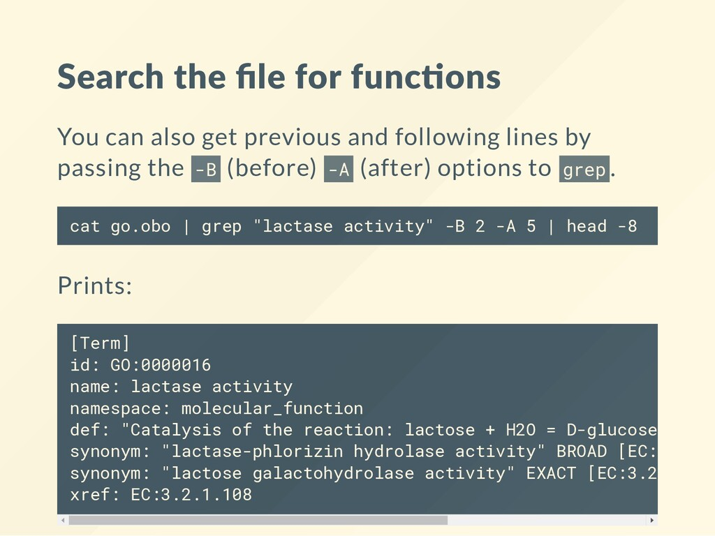 Search the file for func ons You can also get pr...
