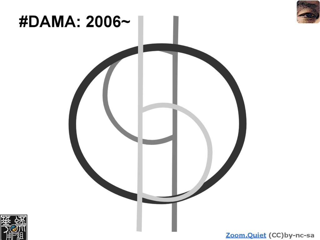 Zoom.Quiet (CC)by-nc-sa #DAMA: 2006~