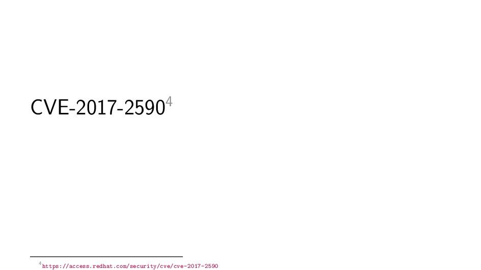 CVE-2017-25904 4https://access.redhat.com/secur...