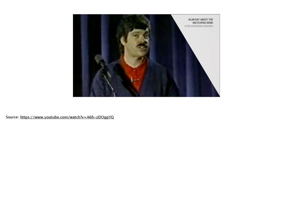ALAN KAY ABOUT THE SKETCHPAD DEMO HTTP://D.PR/...