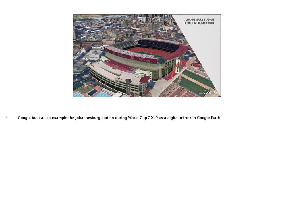 JOHANNESBURG STADION REBUILT IN GOOGLE EARTH *...