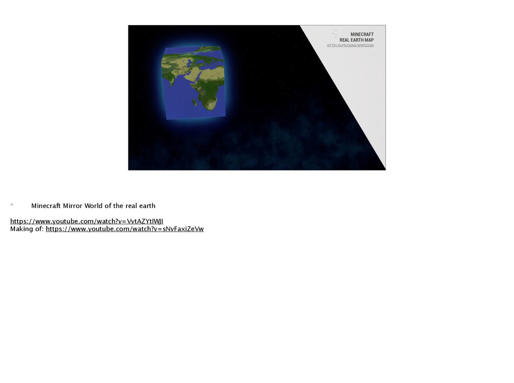 MINECRAFT REAL EARTH MAP HTTP://D.PR/QGNE/9F8PZ...