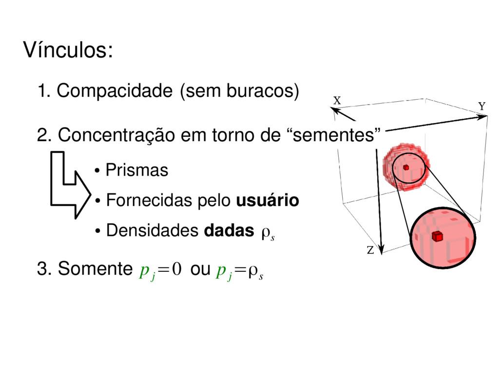 3. Somente ou p j =0 p j =ρs ● Prismas ● Fornec...