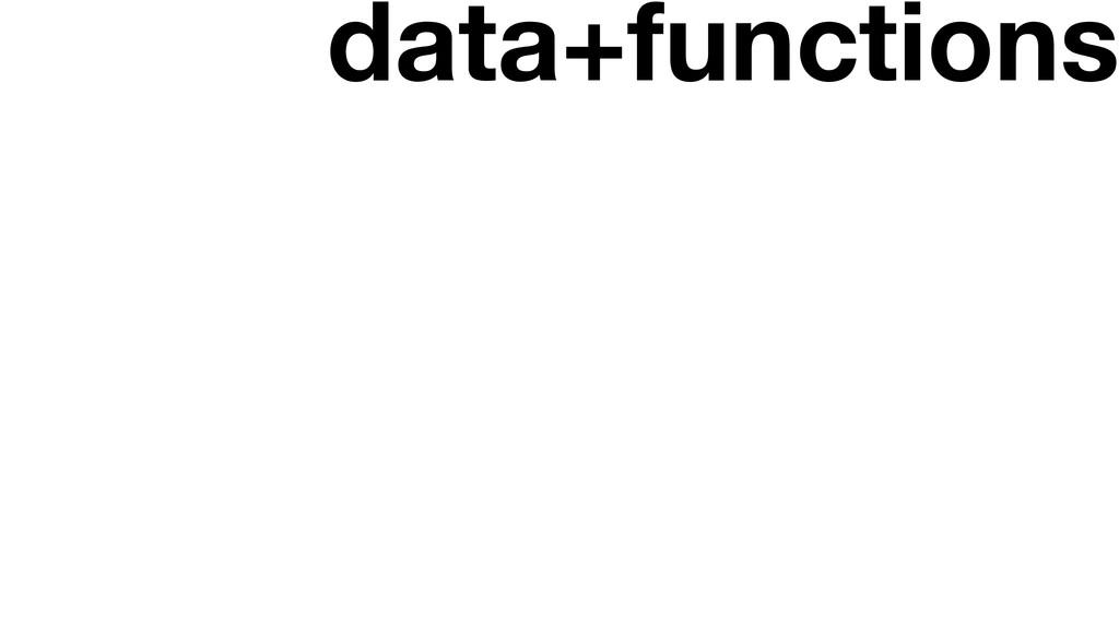 data+functions