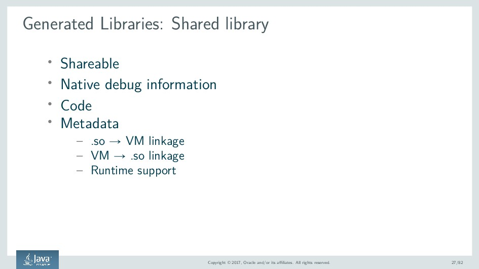 Generated Libraries: Shared library ' Shareable...