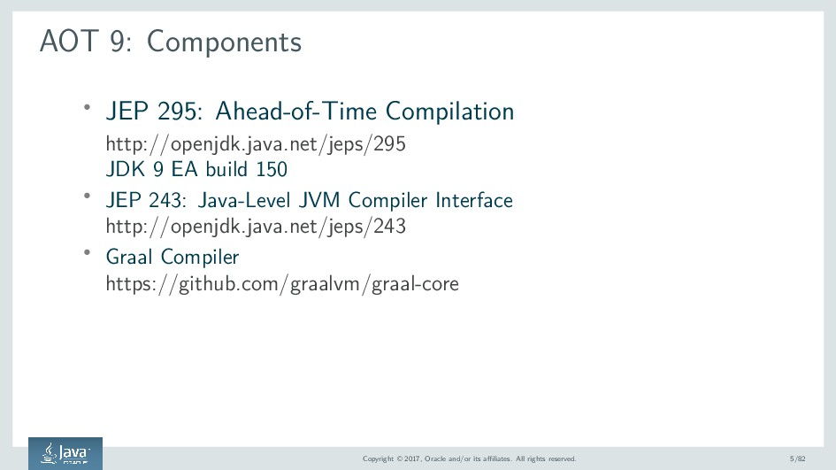 AOT 9: Components ' JEP 295: Ahead-of-Time Comp...