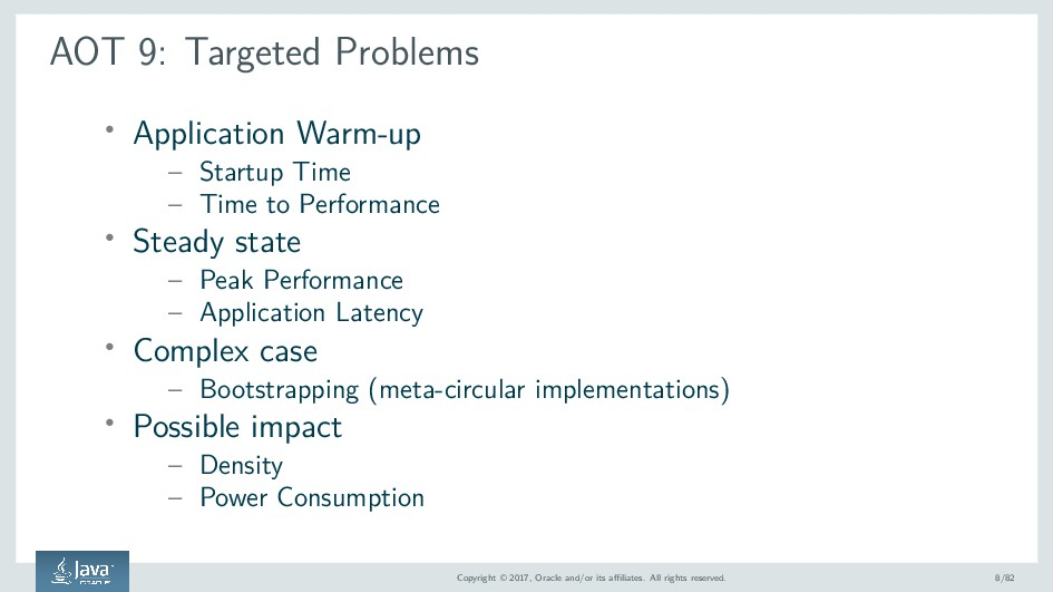 AOT 9: Targeted Problems ' Application Warm-up ...