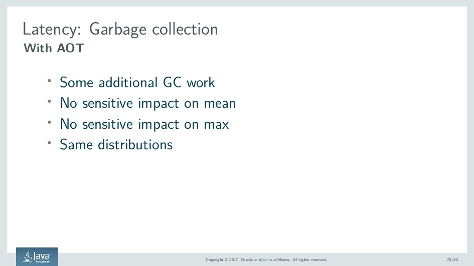 Latency: Garbage collection With AOT ' Some add...