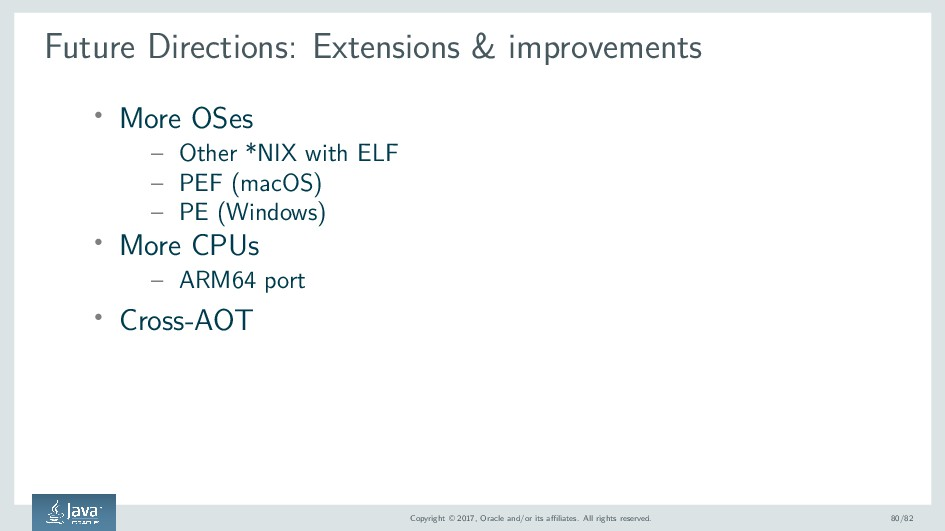 Future Directions: Extensions & improvements ' ...