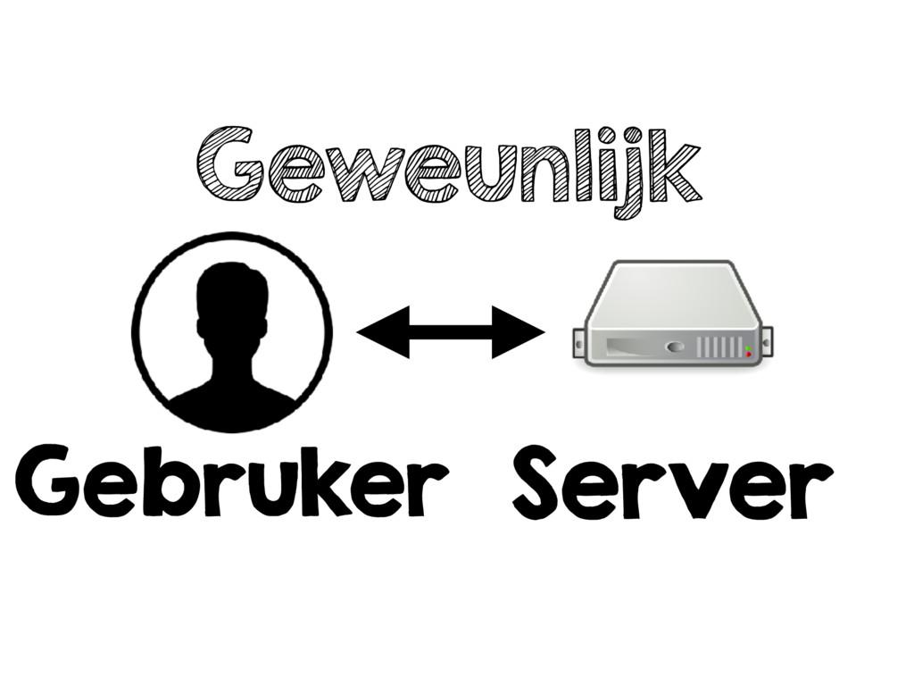 Geweunlijk Gebruker Server