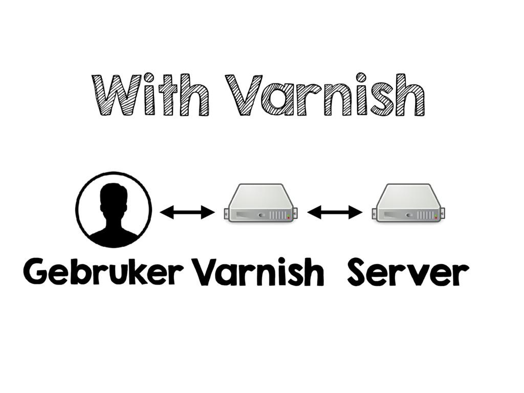 With Varnish Gebruker Varnish Server