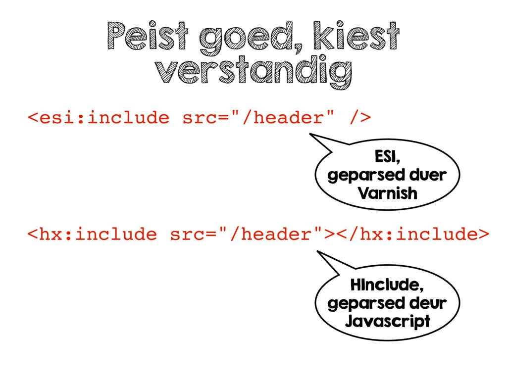 """<esi:include src=""""/header"""" /> Peist goed, kiest..."""