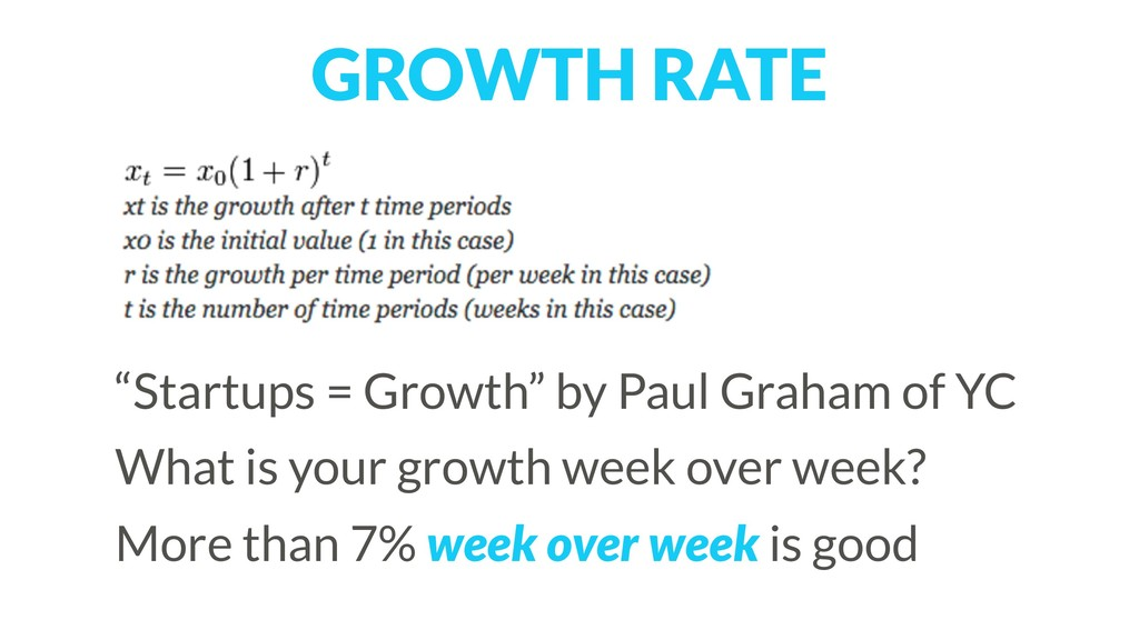 "GROWTH RATE ""Startups = Growth"" by Paul Graham ..."