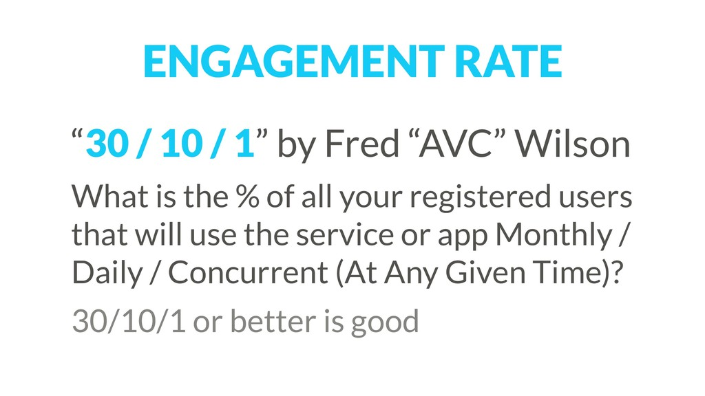 """""""30 / 10 / 1"""" by Fred """"AVC"""" Wilson What is the ..."""