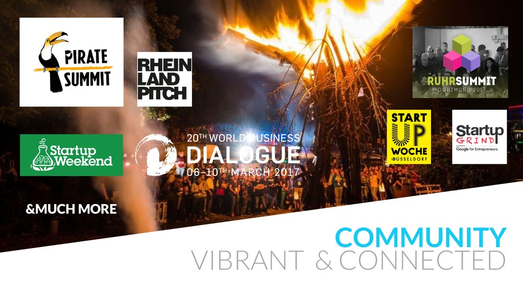 COMMUNITY VIBRANT & CONNECTED &MUCH MORE