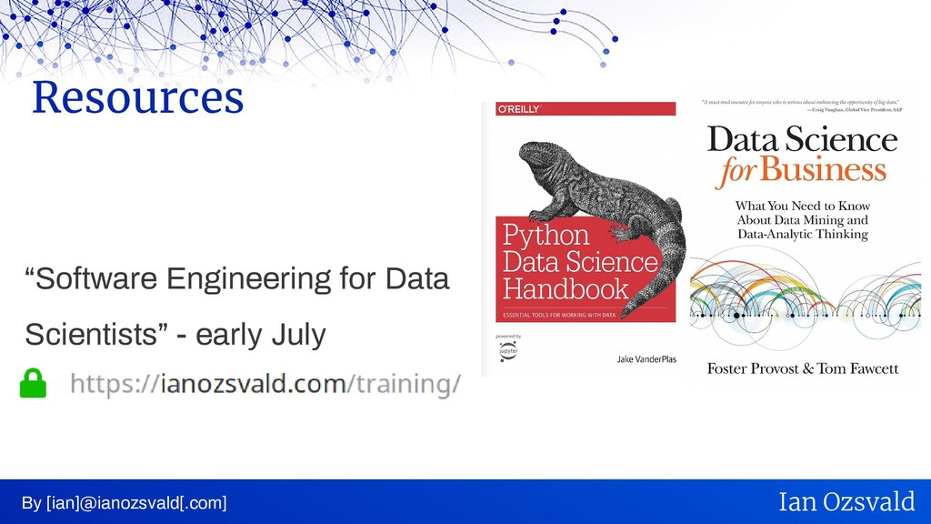 """""""Software Engineering for Data Scientists"""" - ea..."""