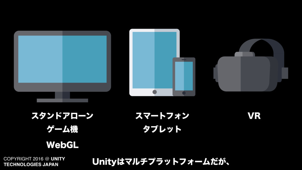 COPYRIGHT 2016 @ UNITY TECHNOLOGIES JAPAN ελϯυΞ...