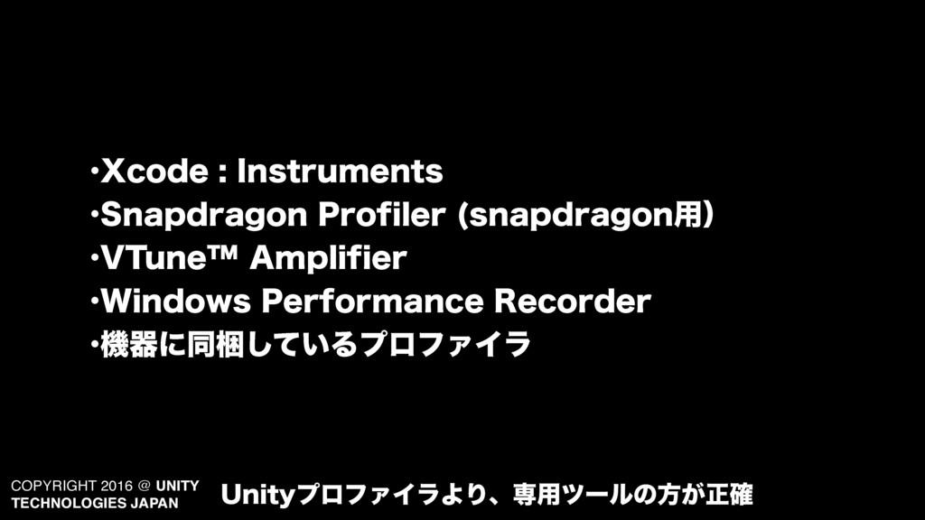 COPYRIGHT 2016 @ UNITY TECHNOLOGIES JAPAN •9DPE...