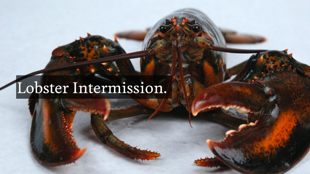 @brapse Dodging Silver Bullets Lobster Intermis...