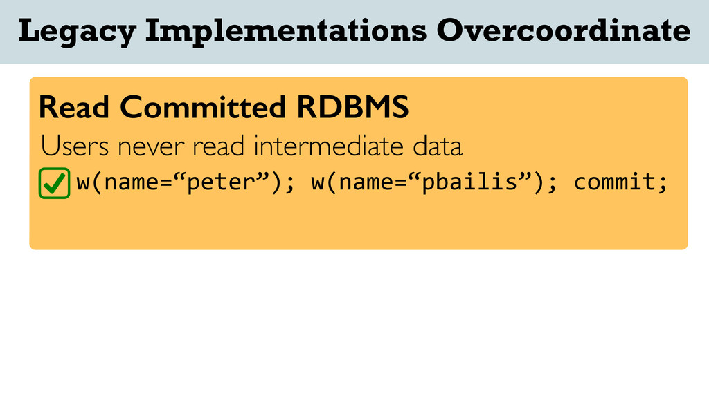 "Users never read intermediate data w(name=""pete..."