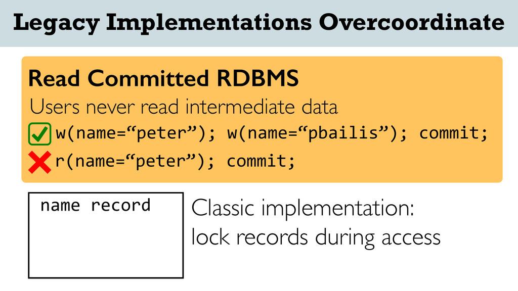 name/record Users never read intermediate data ...