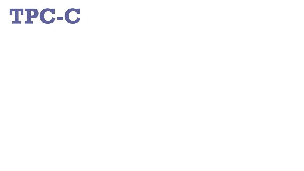 TPC-C