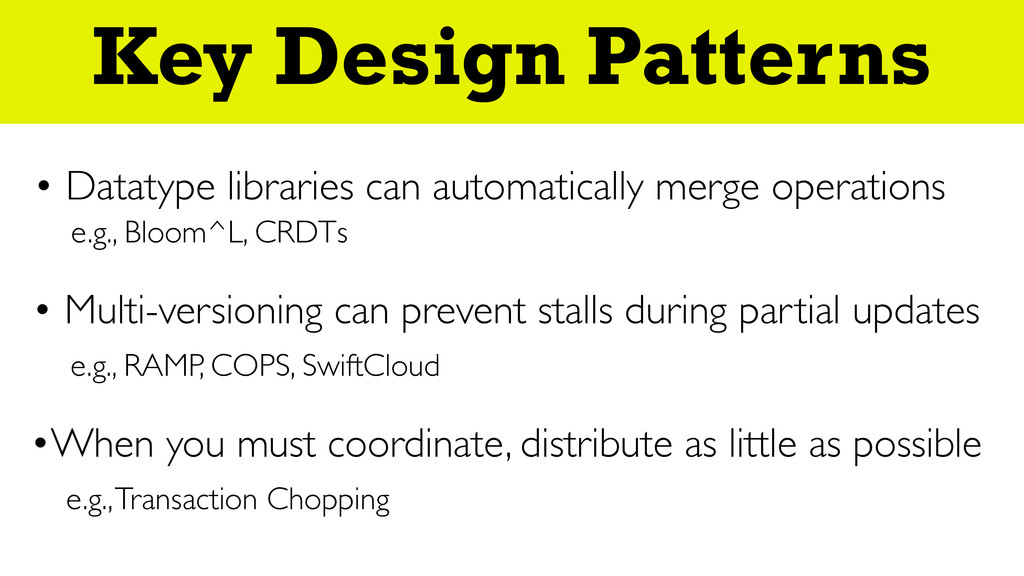 Everything Happens At Once Key Design Patterns ...