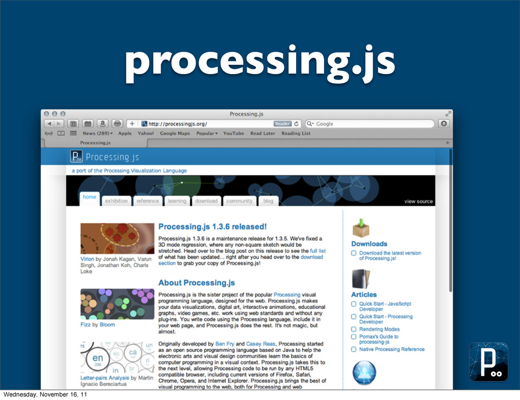 processing.js Wednesday, November 16, 11
