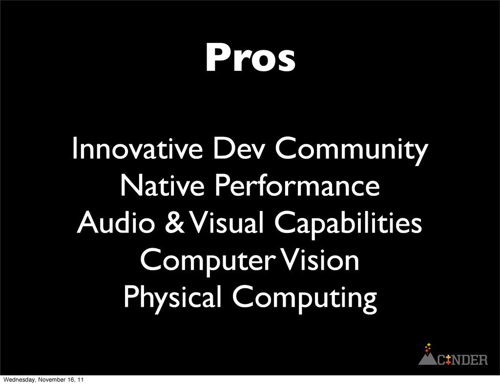 Pros Innovative Dev Community Native Performanc...