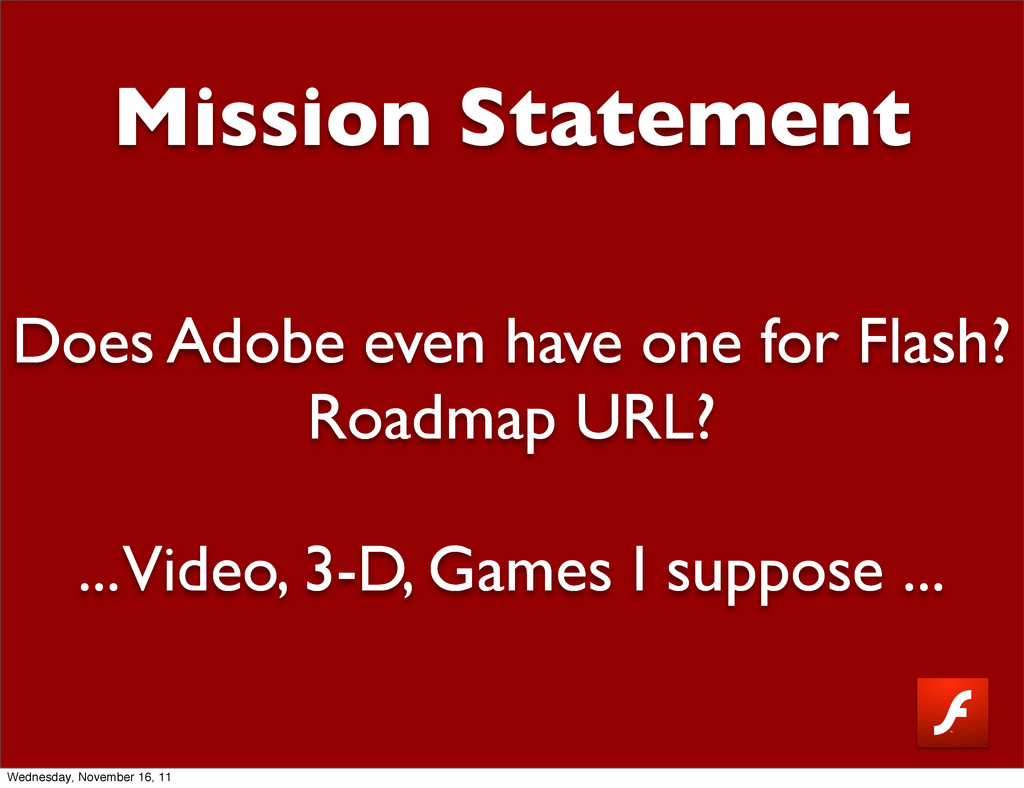 Mission Statement Does Adobe even have one for ...