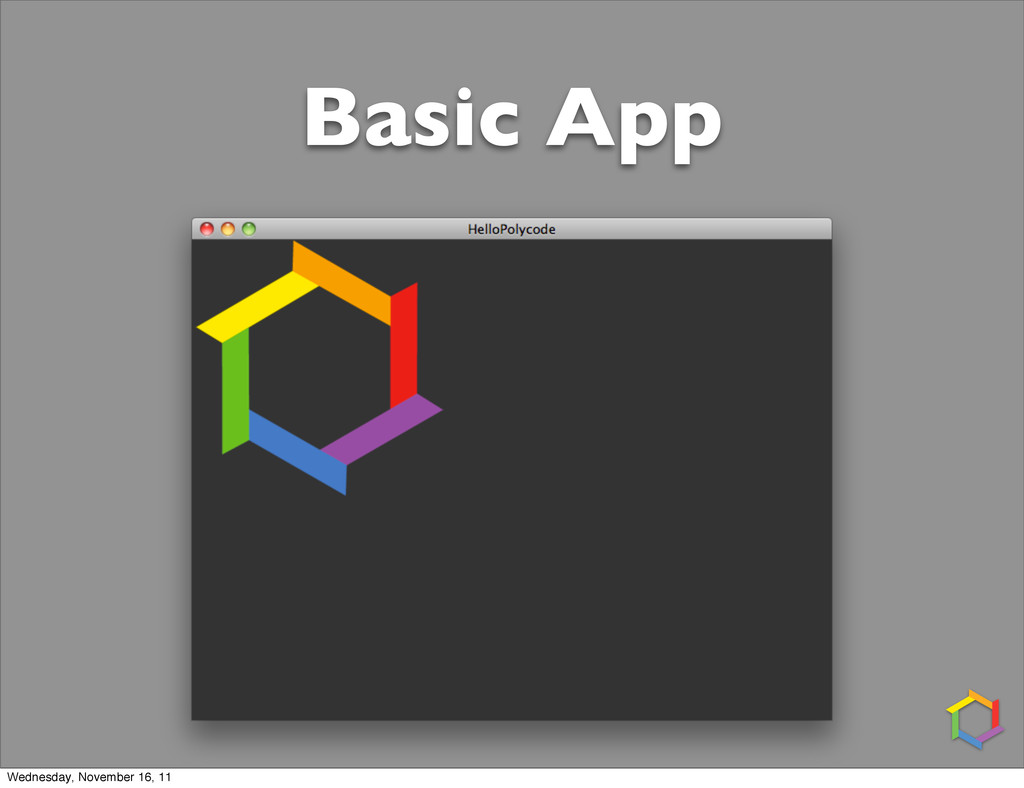 Basic App Wednesday, November 16, 11