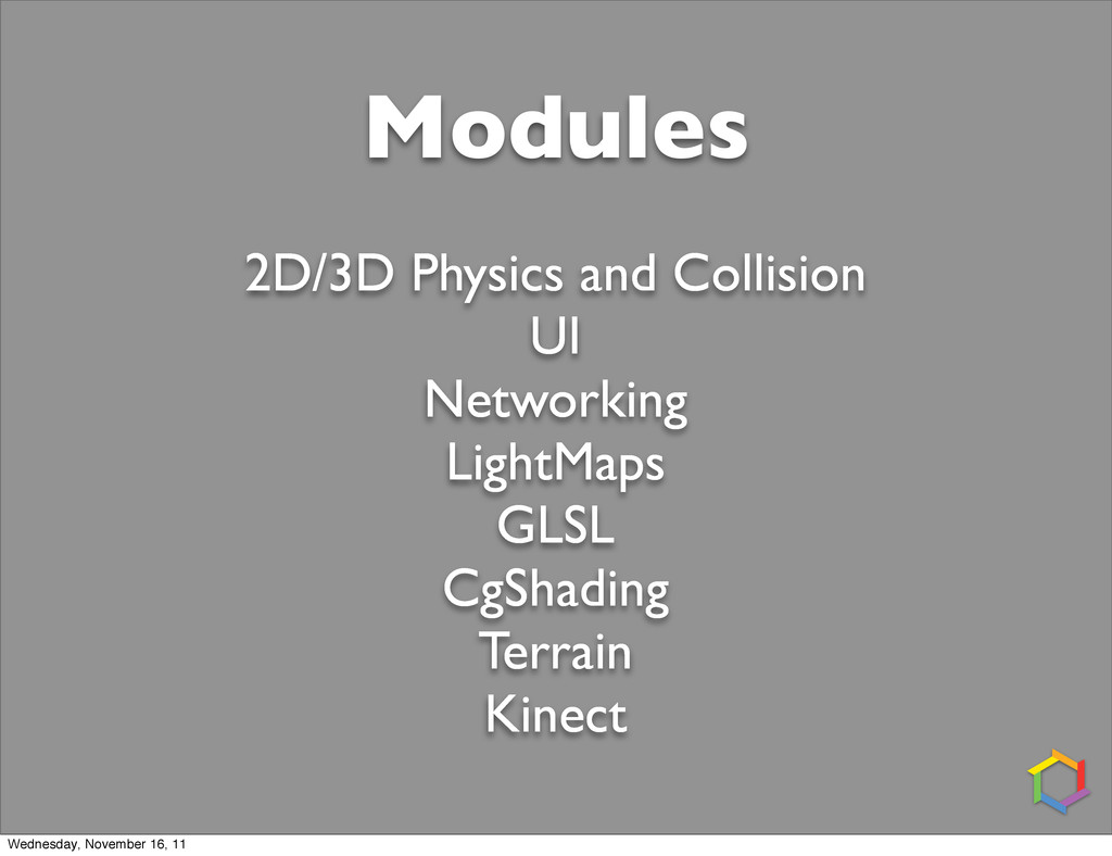 Modules 2D/3D Physics and Collision UI Networki...
