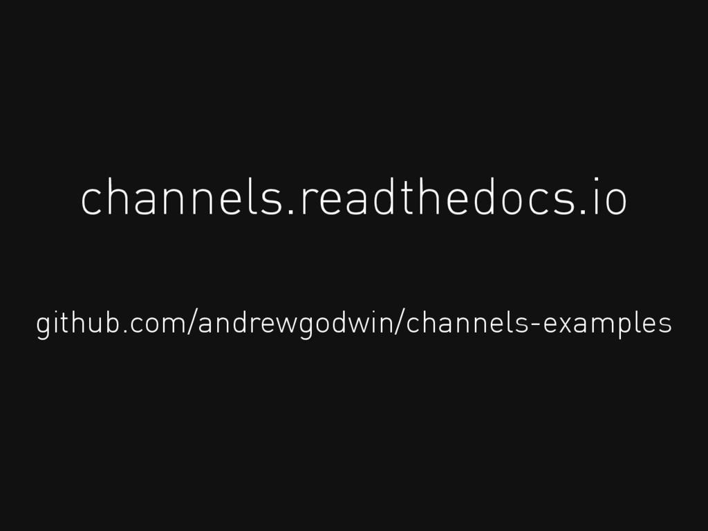 channels.readthedocs.io github.com/andrewgodwin...