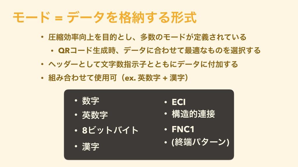 • ECI • ߏత࿈ • FNC1 • (ऴύλʔϯ) •  • ӳ • 8Ϗ...