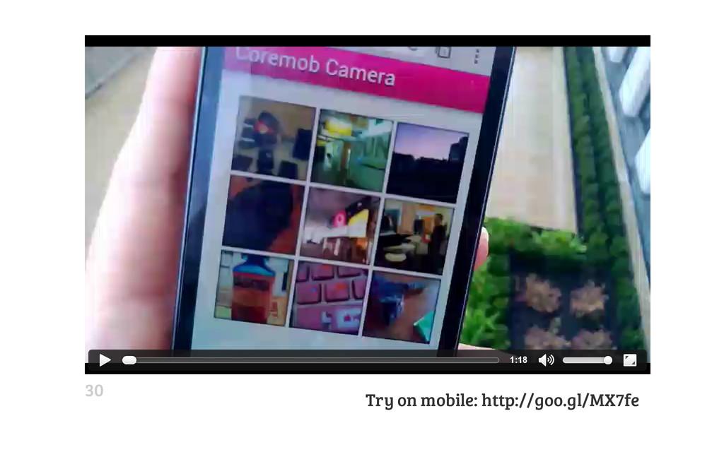 Try on mobile: http://goo.gl/MX7fe 1:18 30
